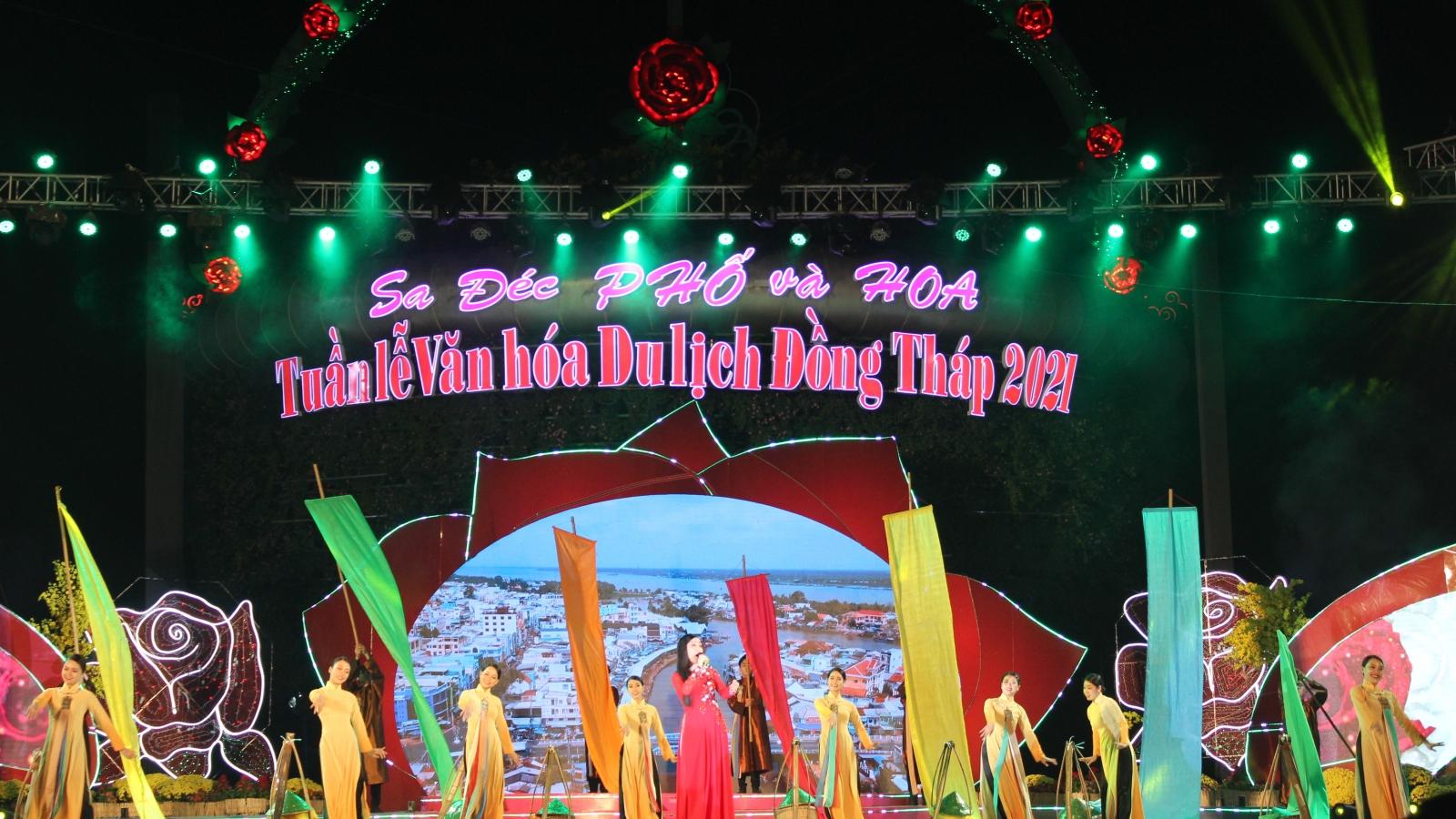 Khai mạc Tuần lễ Văn hóa Du lịch Đồng Tháp 2021