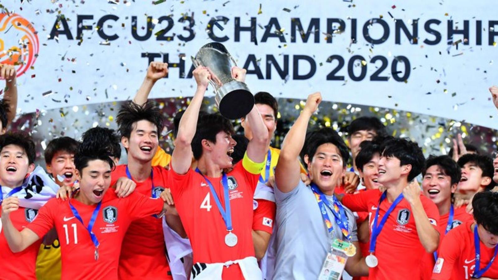Ngày này năm xưa: Bóng đá Hàn Quốc đăng quang ở giải đấu đặc biệt của châu Á