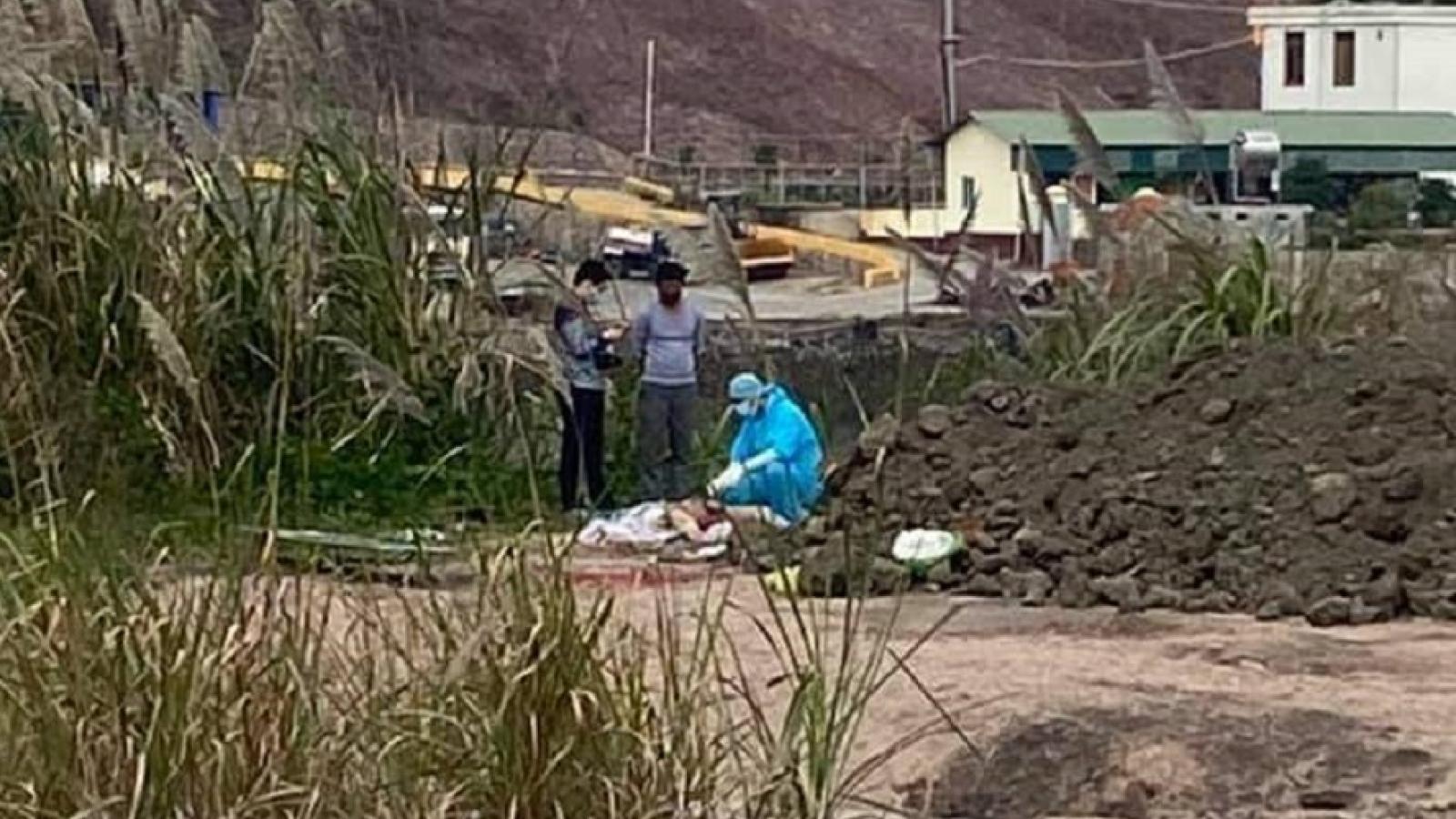 Phát hiện thi thể nam giới gần nhà máy nhiệt điện tạiQuảng Ninh
