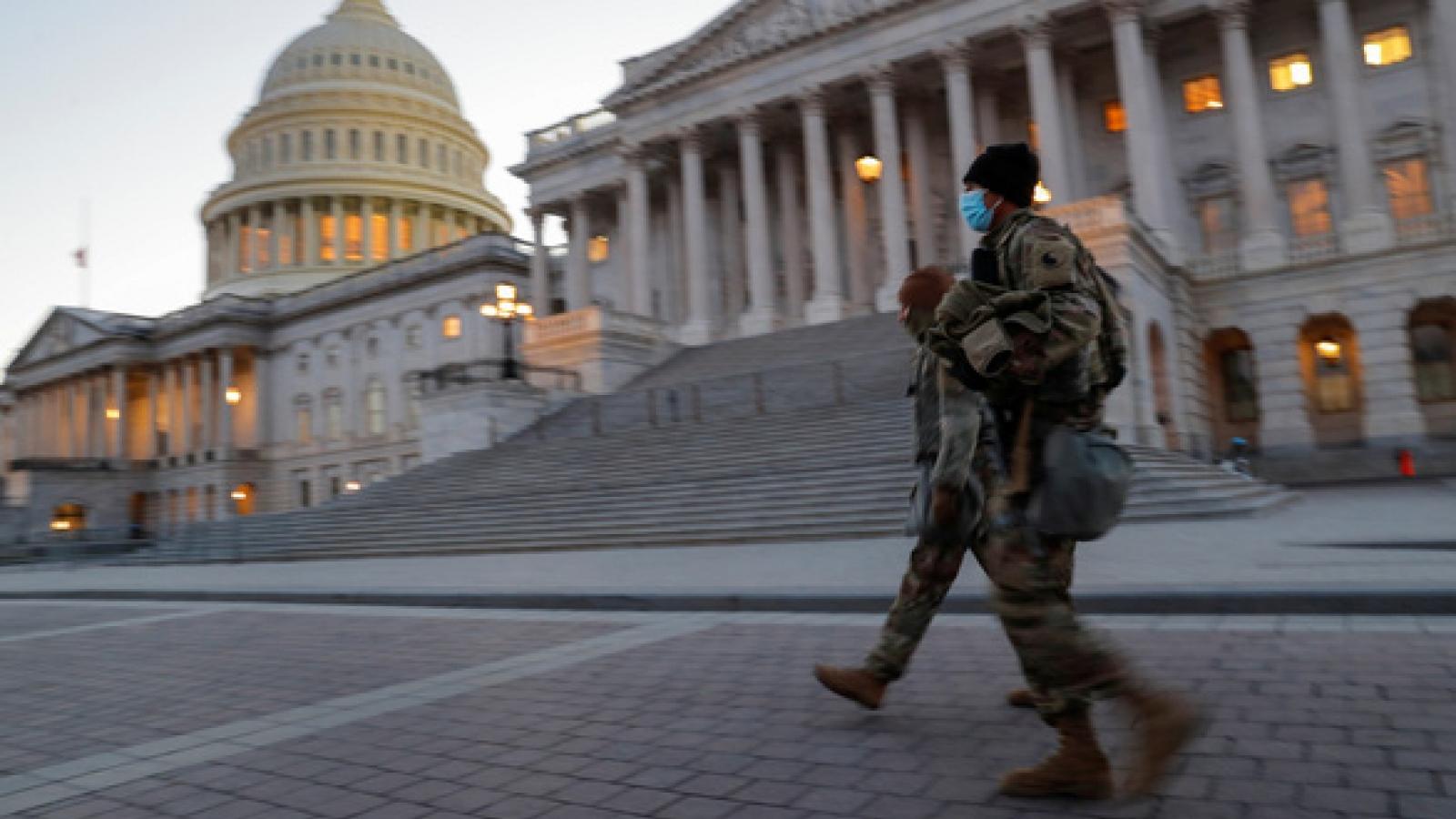 Mỹ tăng cường an ninh tối đa trước thềm lễ nhậm chức của Tổng thống đắc cử Joe Biden