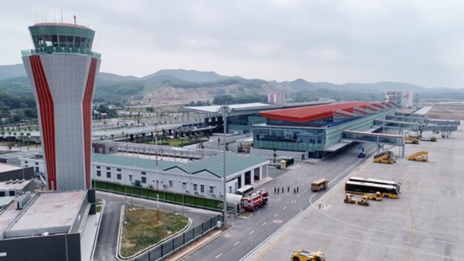 Sân bay Vân Đồn tiếp tục đóng cửa đến ngày 21/2