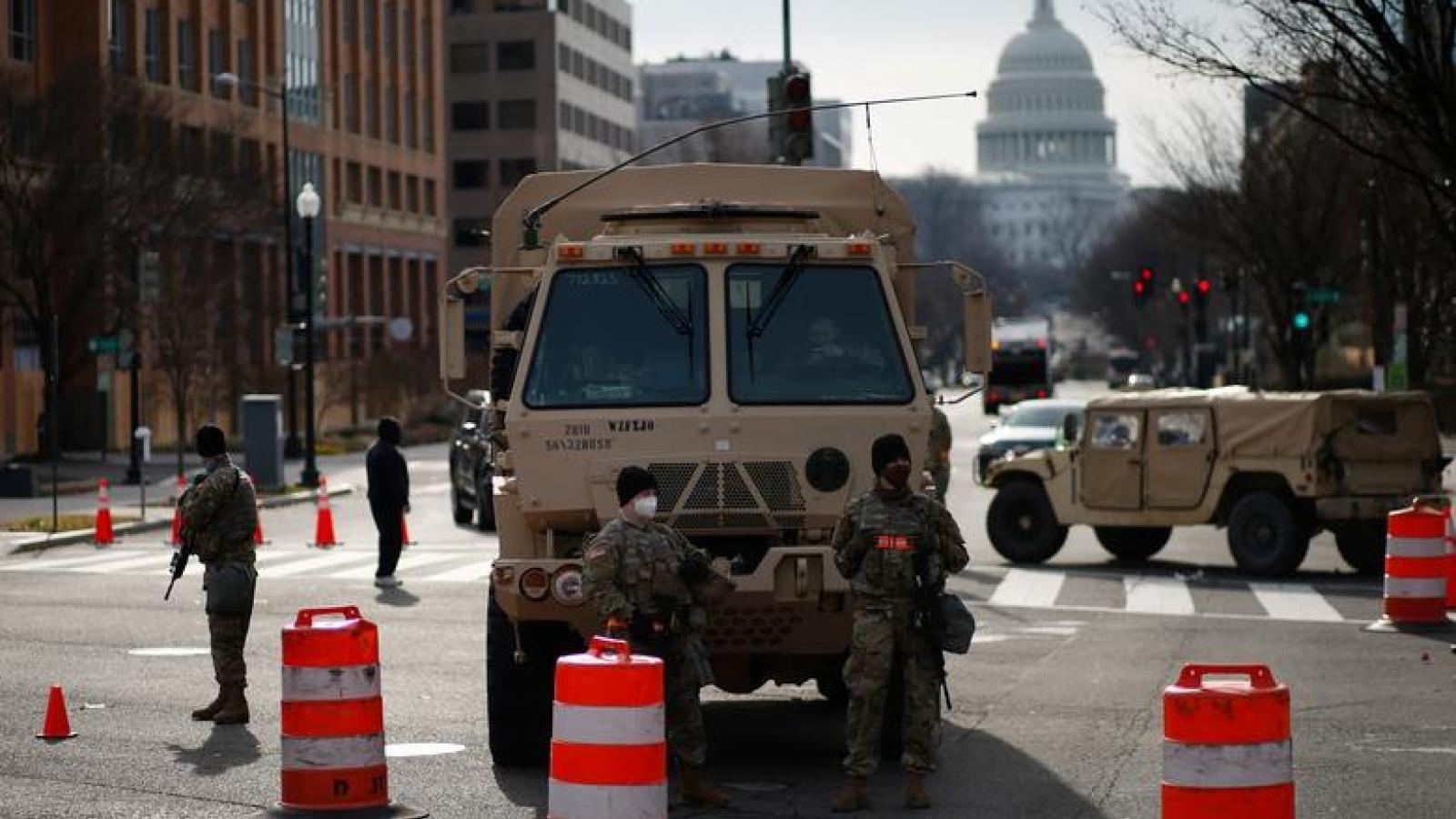 Mỹ lên phương án đề phòng vụ bạo loạn từ nay đến lễ nhậm chức