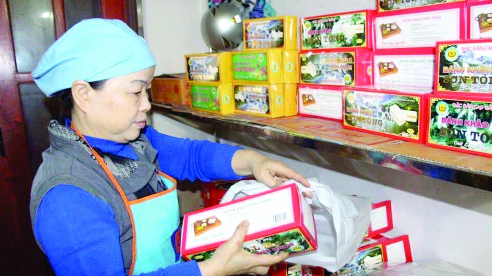 Bánh khảo hương vị dân dã của Cao Bằng