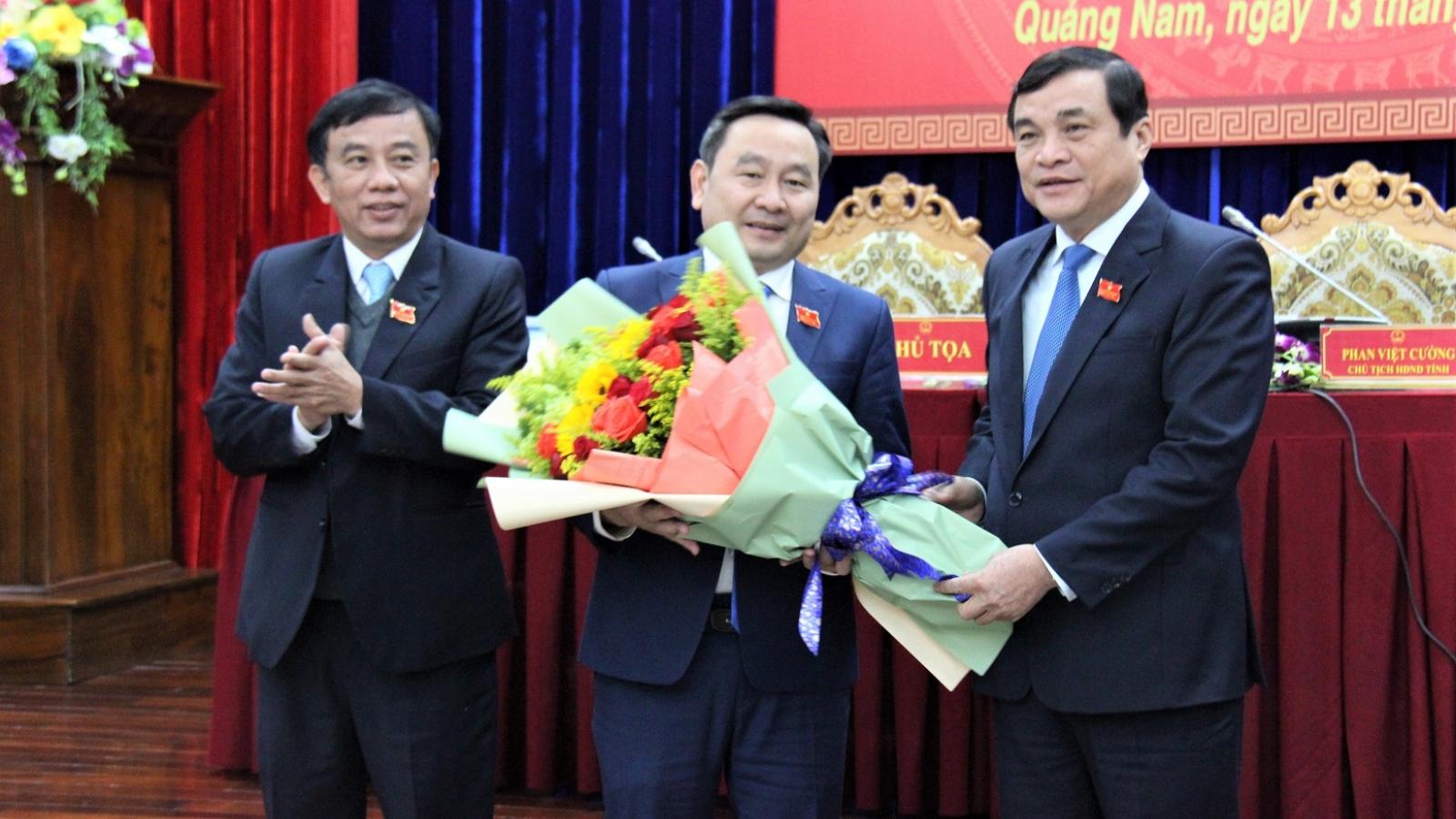 Ông Nguyễn Công Thanh giữ chức Phó Chủ tịch HĐND tỉnh Quảng Nam