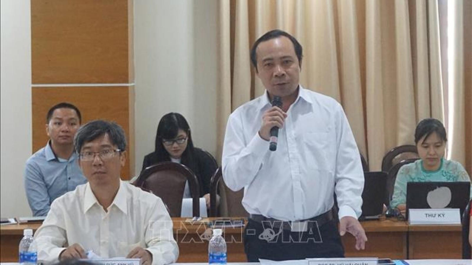 Đại học Quốc gia TP Hồ Chí Minh có giám đốc mới