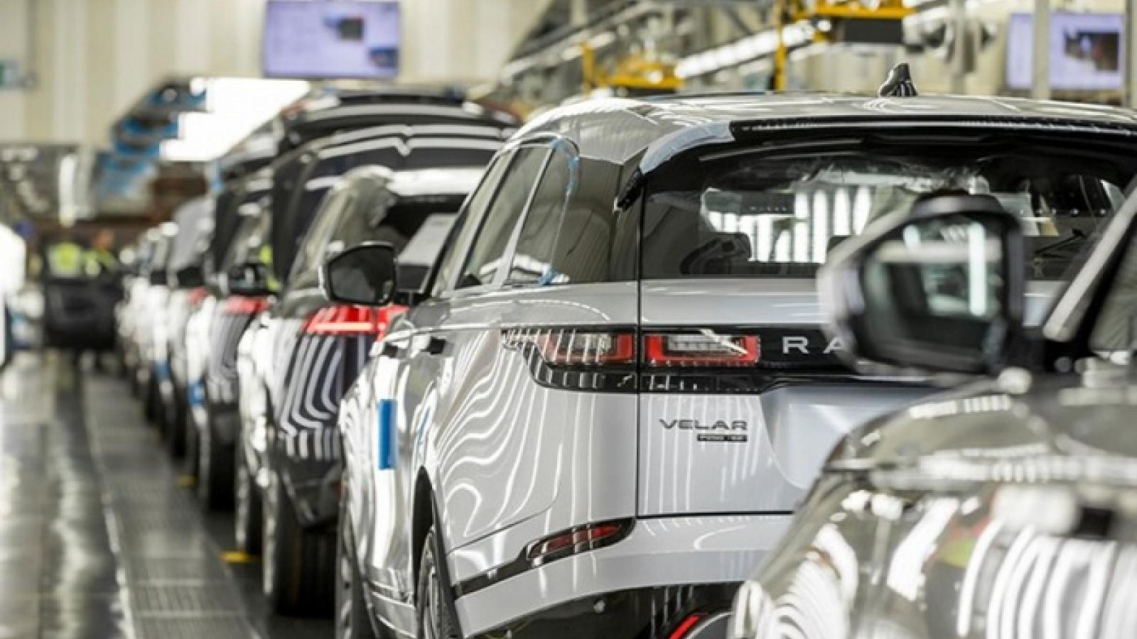 Sản lượng ô tô của Anh giảm xuống mức thấp nhất 37 năm do ảnh hưởng Covid-19