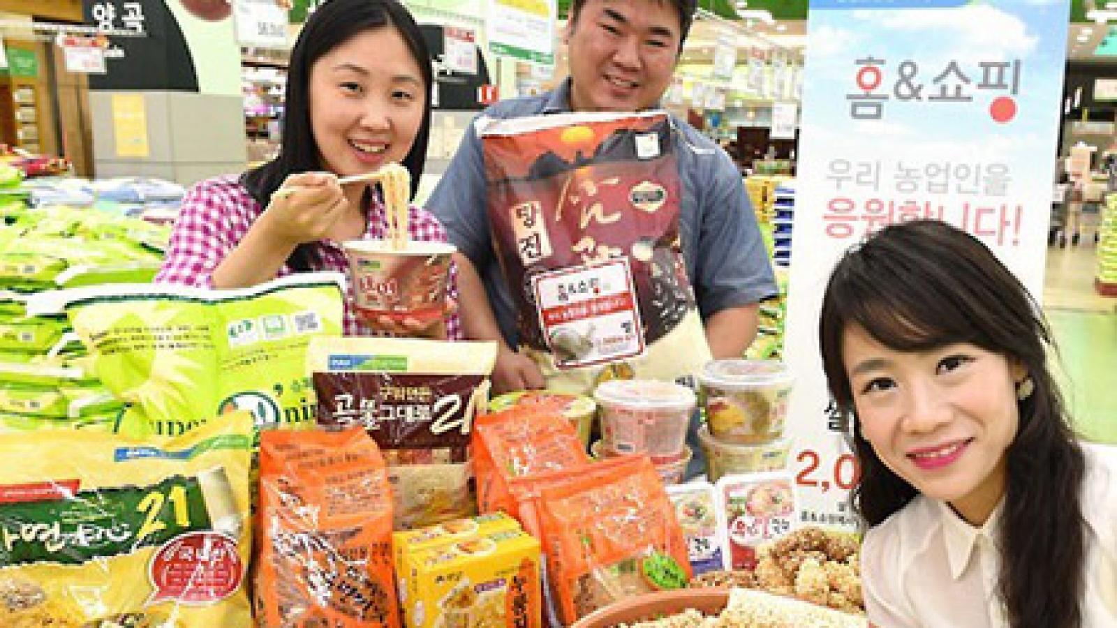Xuất khẩu sản phẩm chế biến từ gạo của Hàn Quốc năm 2020 tăng kỷ lục
