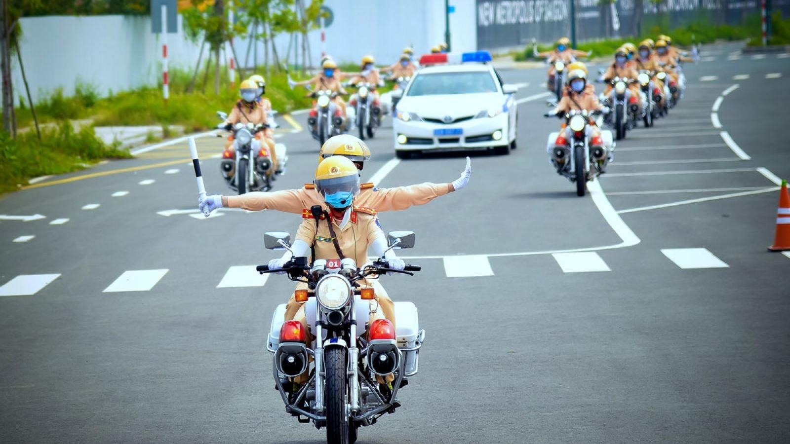 Đại hội XIII của Đảng: Phân luồng giao thông hàng loạt tuyến đường cửa ngõ Hà Nội