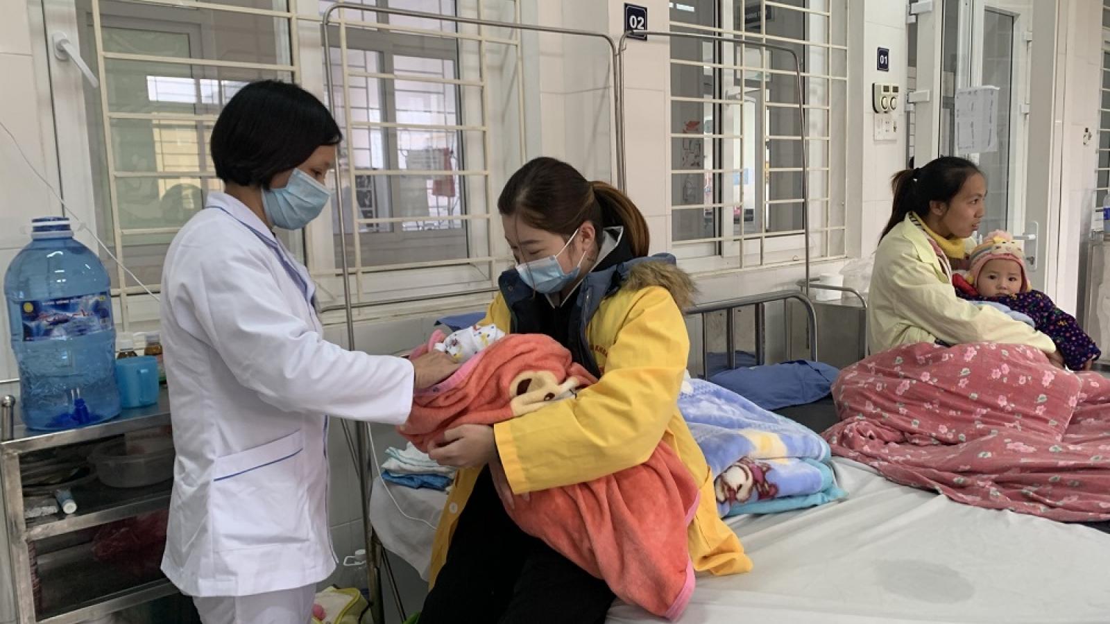 Bệnh nhân nhập viện tăng gấp 3 lần trong những ngày giá rét
