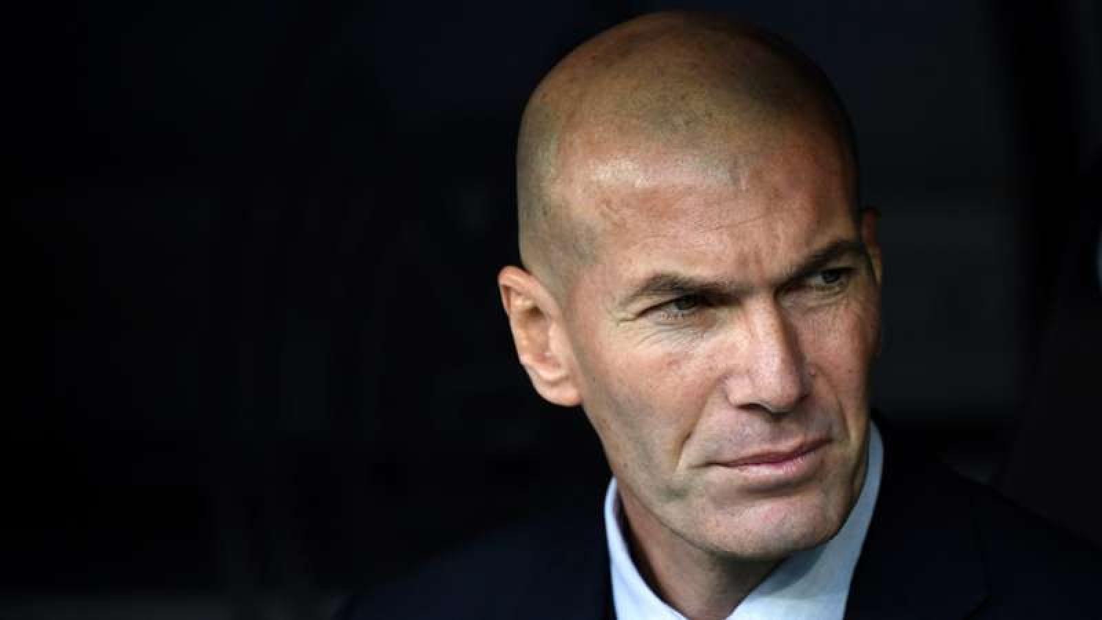 HLV Zidane không vội gia hạn hợp đồng với Real Madrid