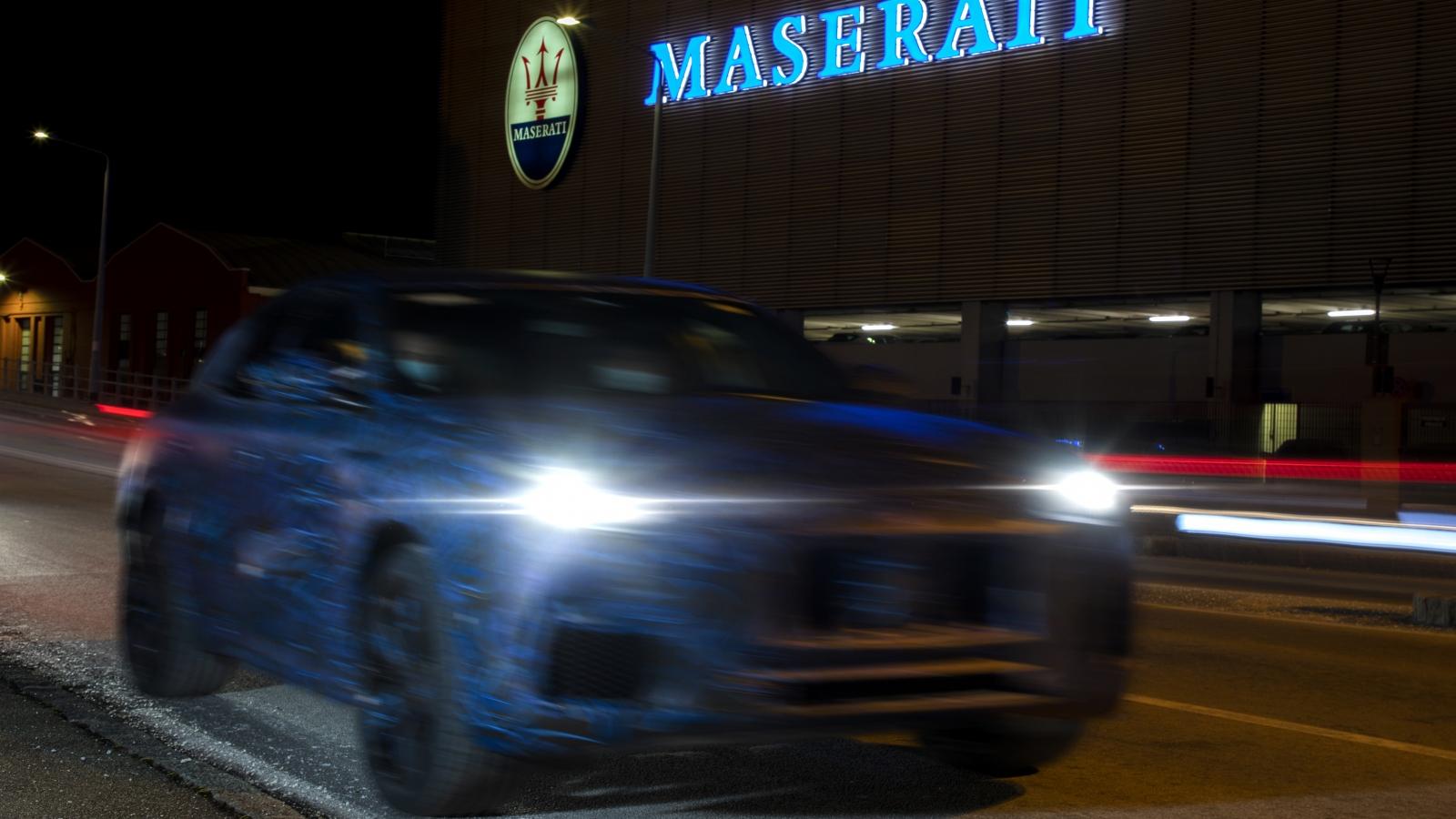 Những hình ảnh đầu tiên của xe nguyên mẫu Grecale – SUV mới của Maserati
