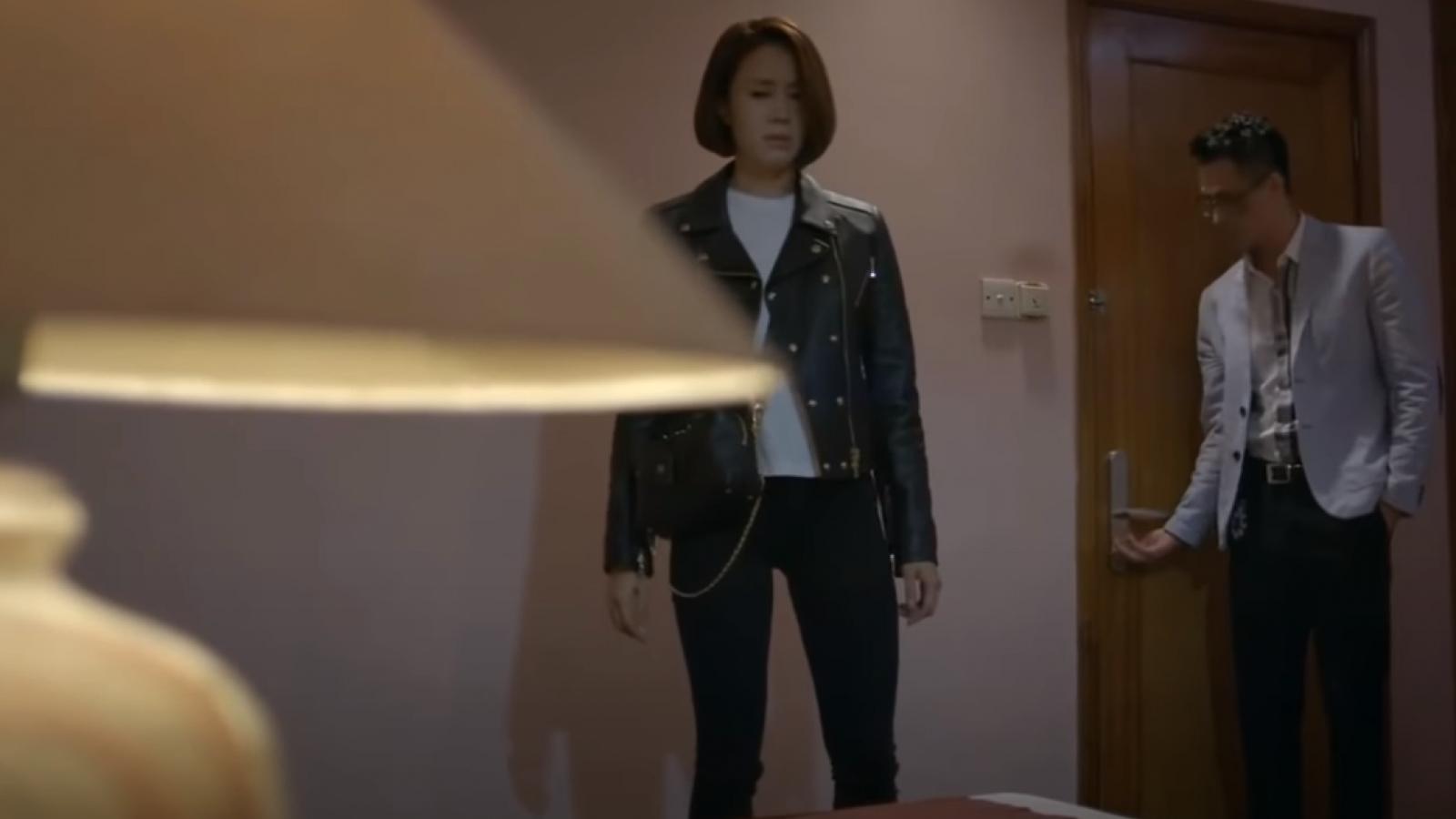 """Hậu trường cảnh Hồng Diễm bị cưỡng hiếp, quay clip trong """"Hướng dương ngược nắng"""""""