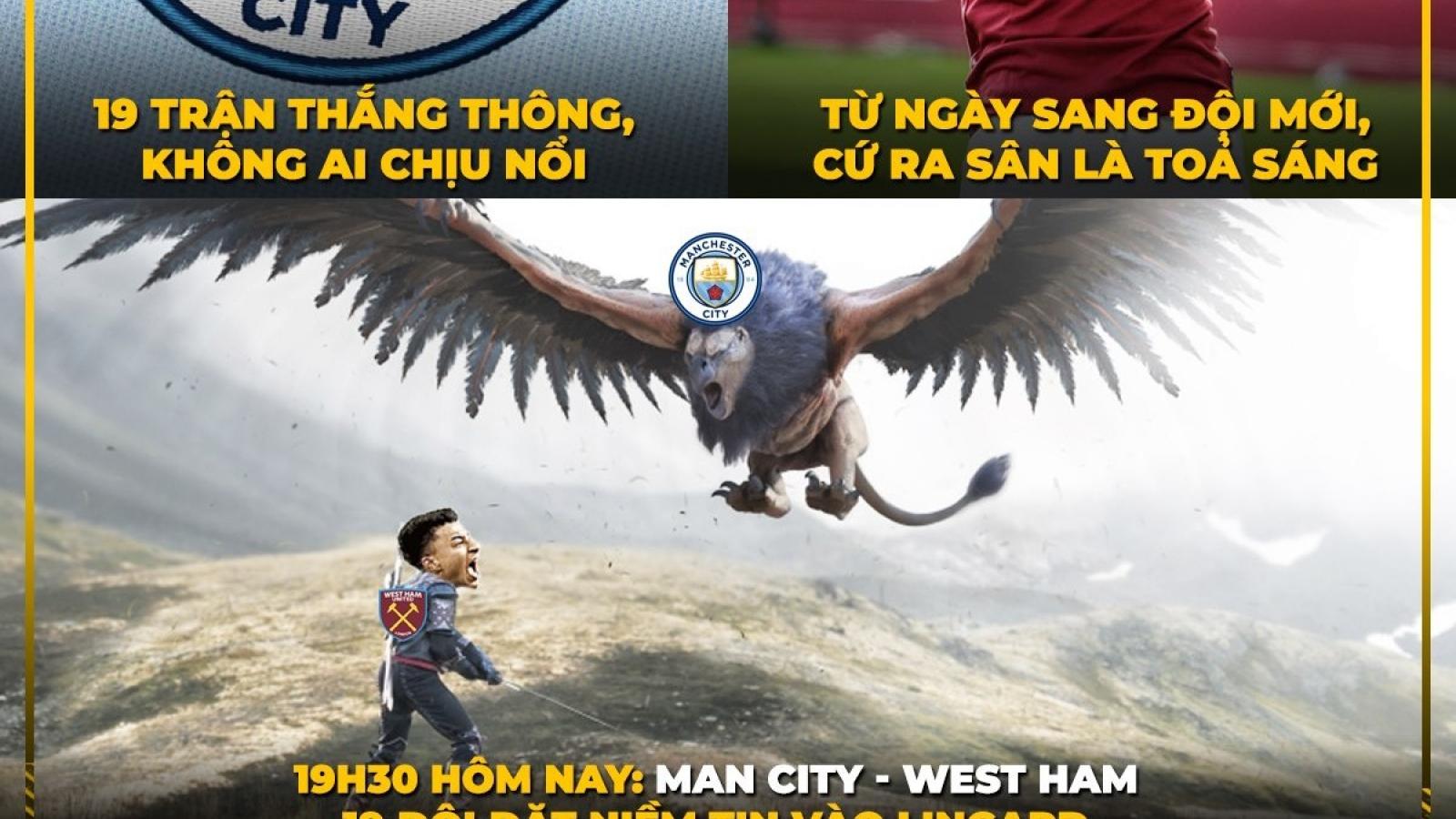 """Biếm họa 24h: Lingard sẽ giúp MU """"ngáng đường"""" Man City?"""