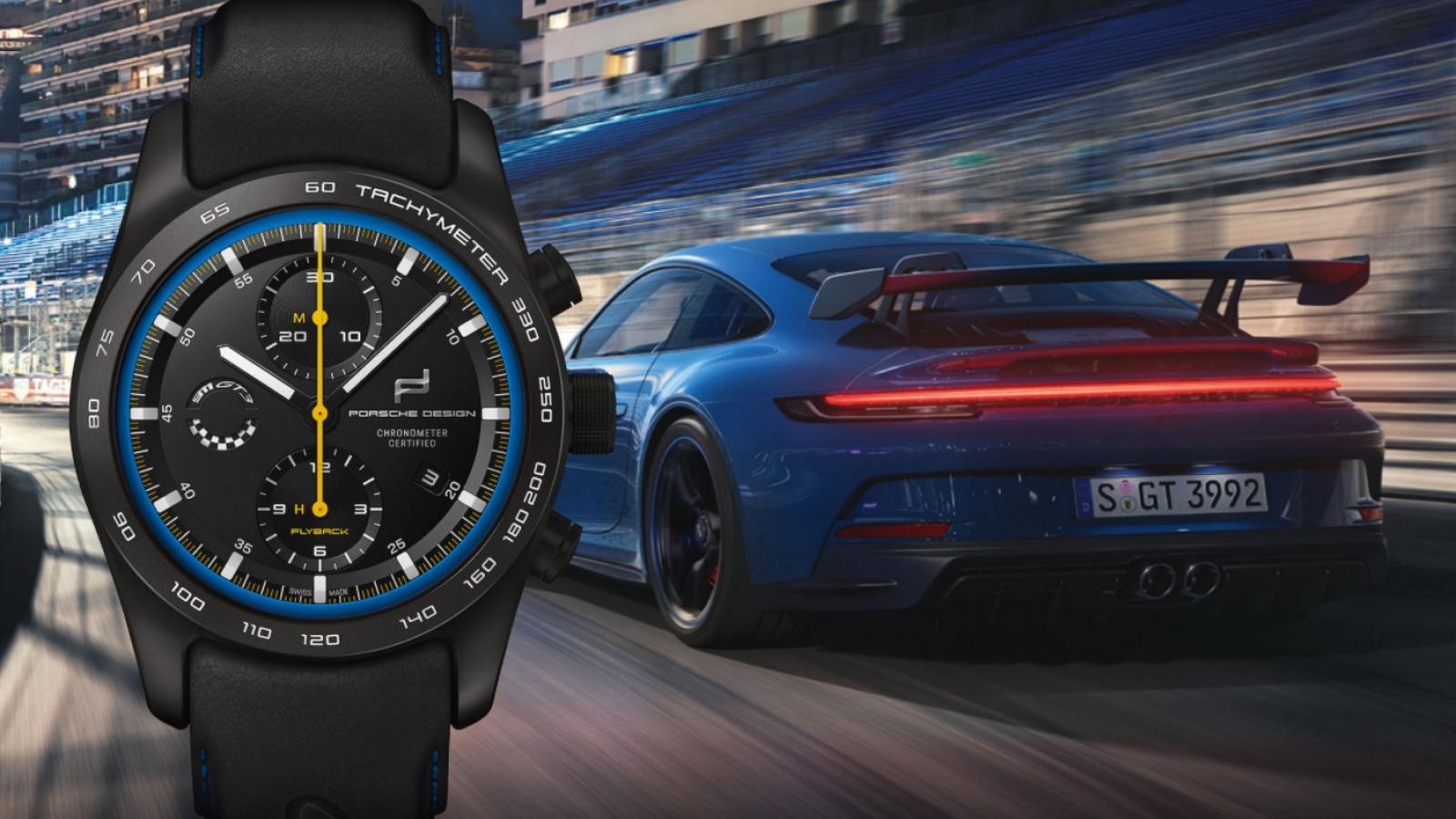 Chiêm ngưỡng đồng hồ Chronograph 8,500 USD mới của Porsche Design