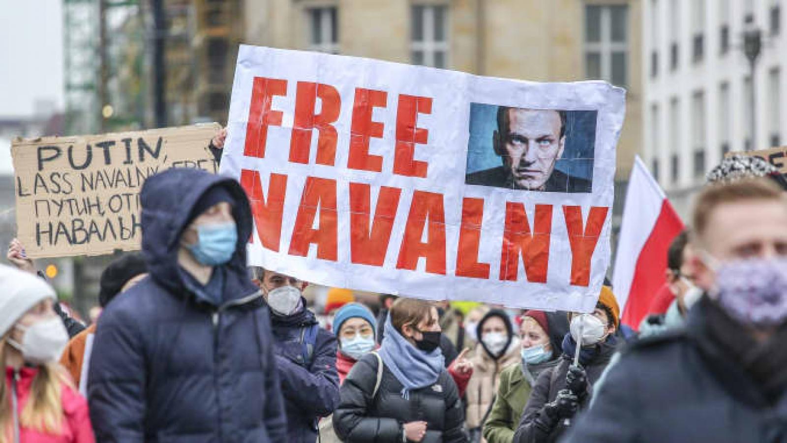 EU lần đầu sử dụng đạo luật nhân quyền để trừng phạt Nga vì vụ Navalny