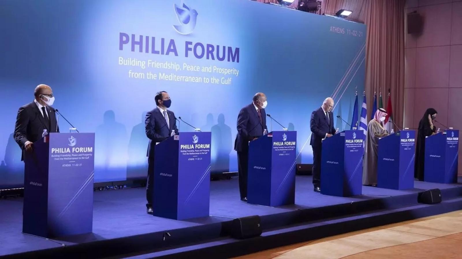 Diễn đàn hữu nghị kêu gọi tăng cường hợp tác ở khu vực Đông Địa Trung Hải