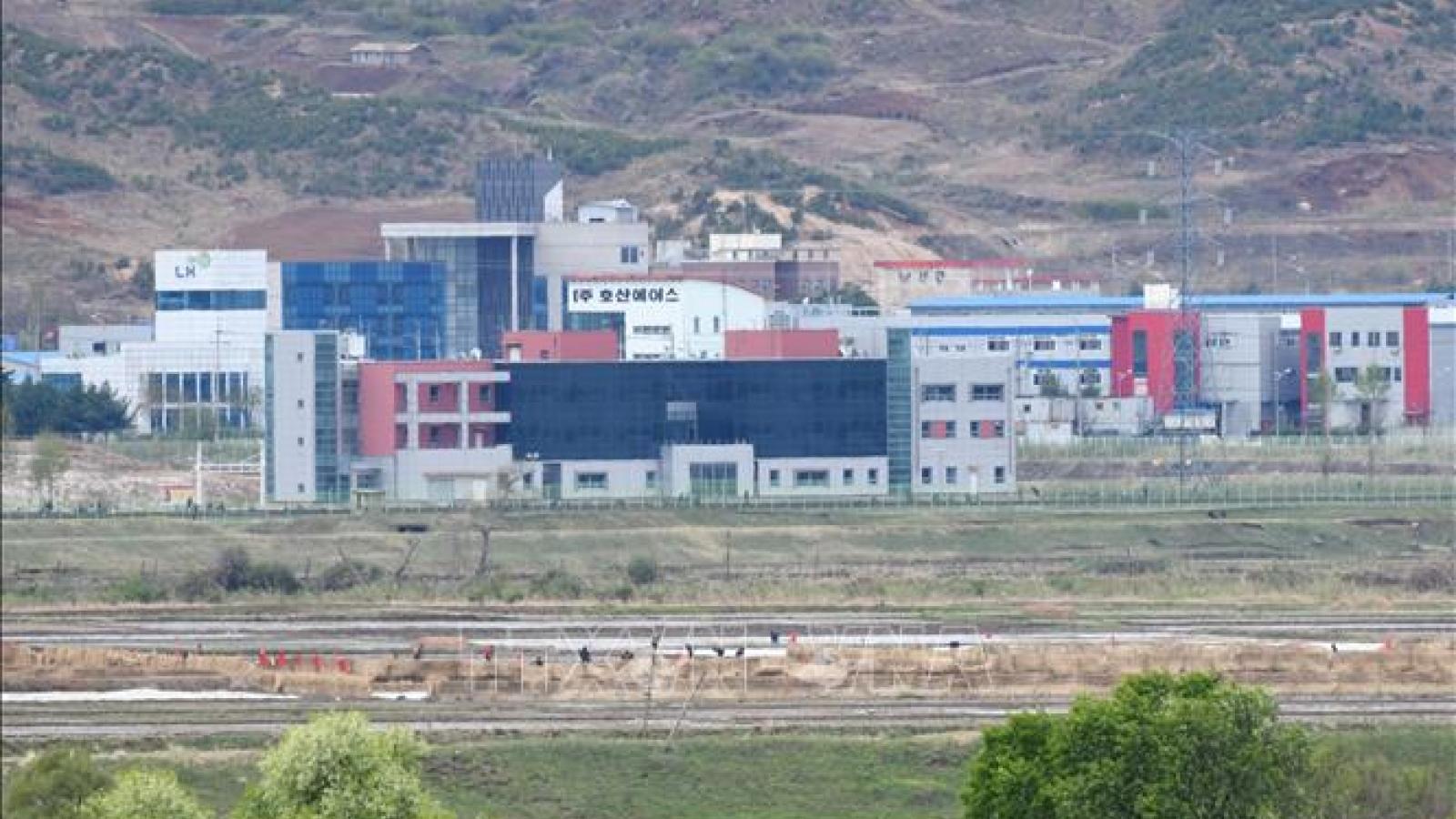 Hàn Quốc mong muốn khu công nghiệp liên Triều Gaesung mở trở lại