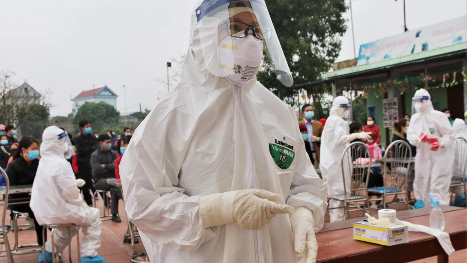 Chiều nay, Việt Nam có thêm 20 ca mắc COVID-19 trong cộng đồng