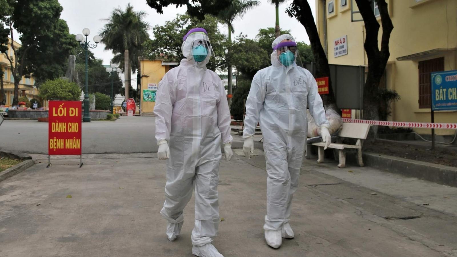 Chiều mùng 3 Tết, Việt Nam có thêm 33 ca mắc COVID-19 tại Hải Dương và Hà Nội