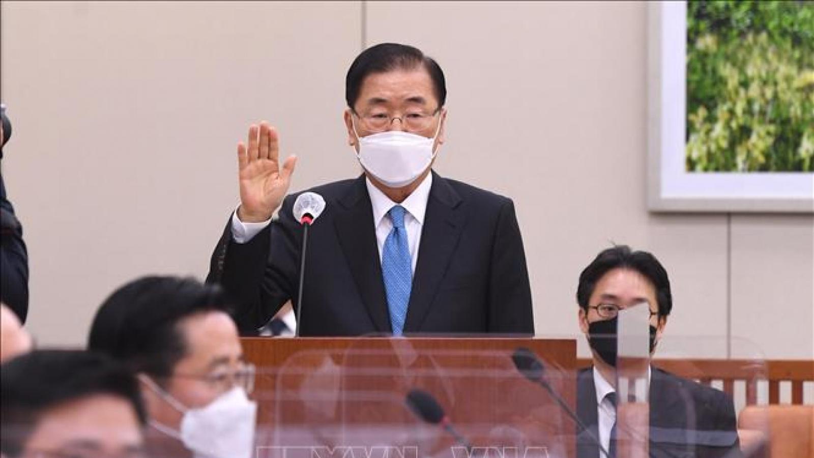 Tân Ngoại trưởng Hàn Quốc chính thức nhậm chức