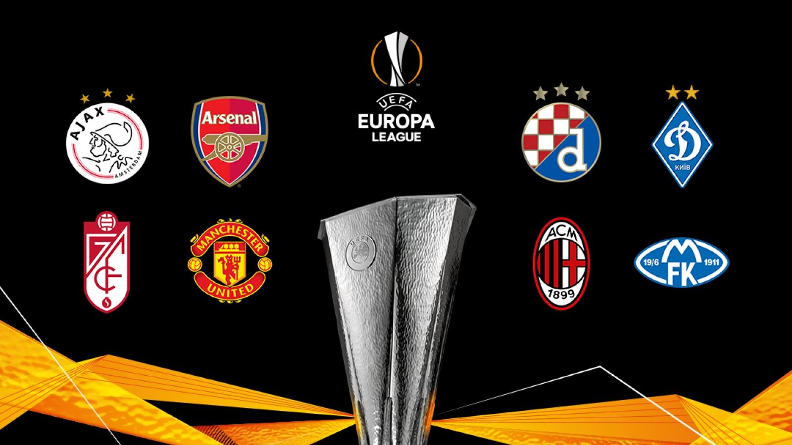 Điểm danh 16 đội bóng giành vé vào vòng 1/8 Europa League 2020/2021