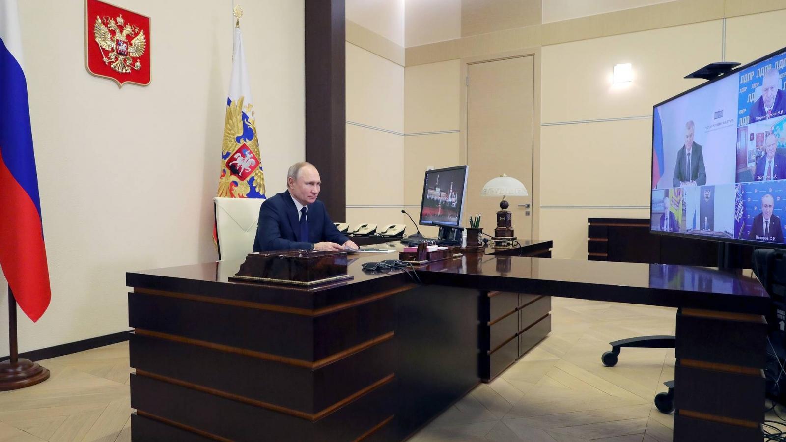 Nga quyết không để thế lực bên ngoài can thiệp vào cuộc bầu cử Duma Quốc gia