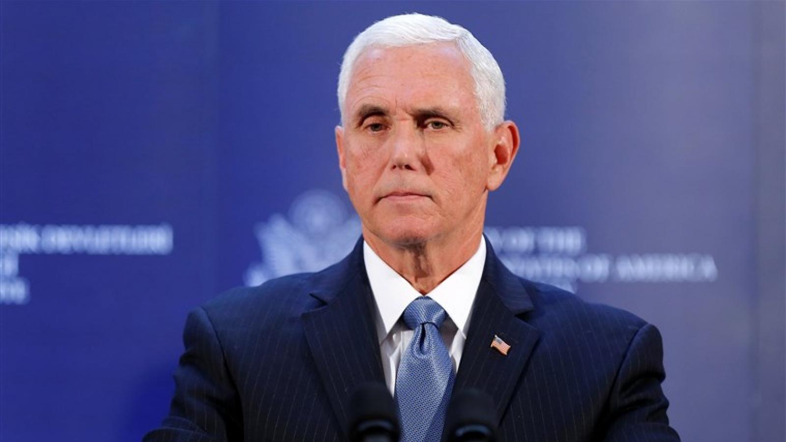 Nối gót Trump, cựu Phó Tổng thống Pence thành lập văn phòng sau khi rời Nhà Trắng
