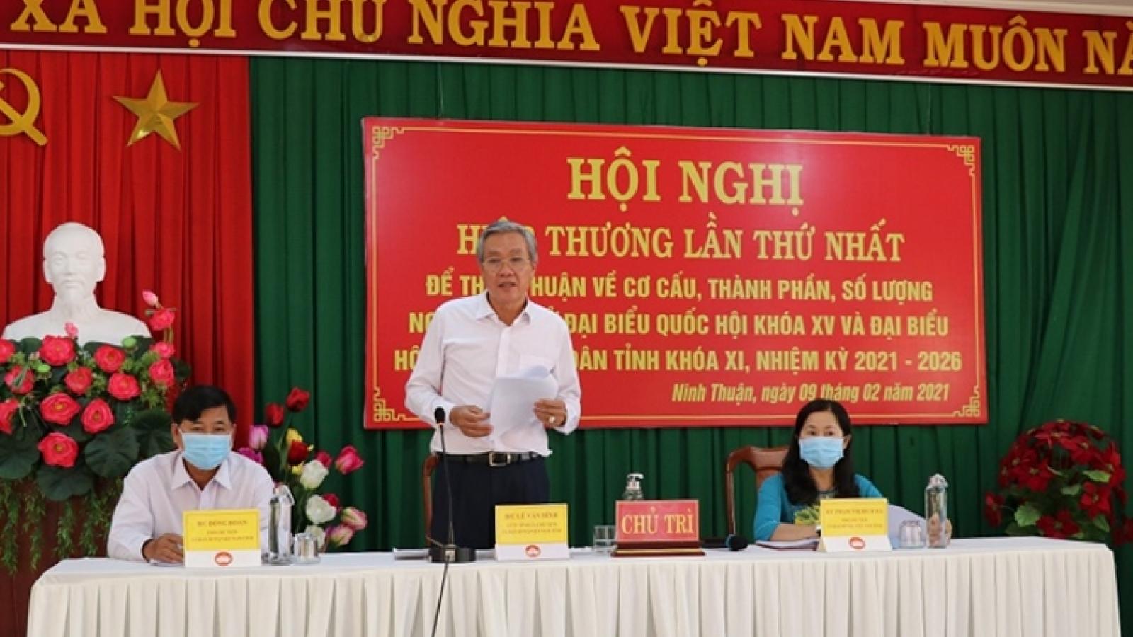 Ninh Thuận sẽ bầu 12 đại biểu Quốc hội và 50 đại biểu HĐND tỉnh