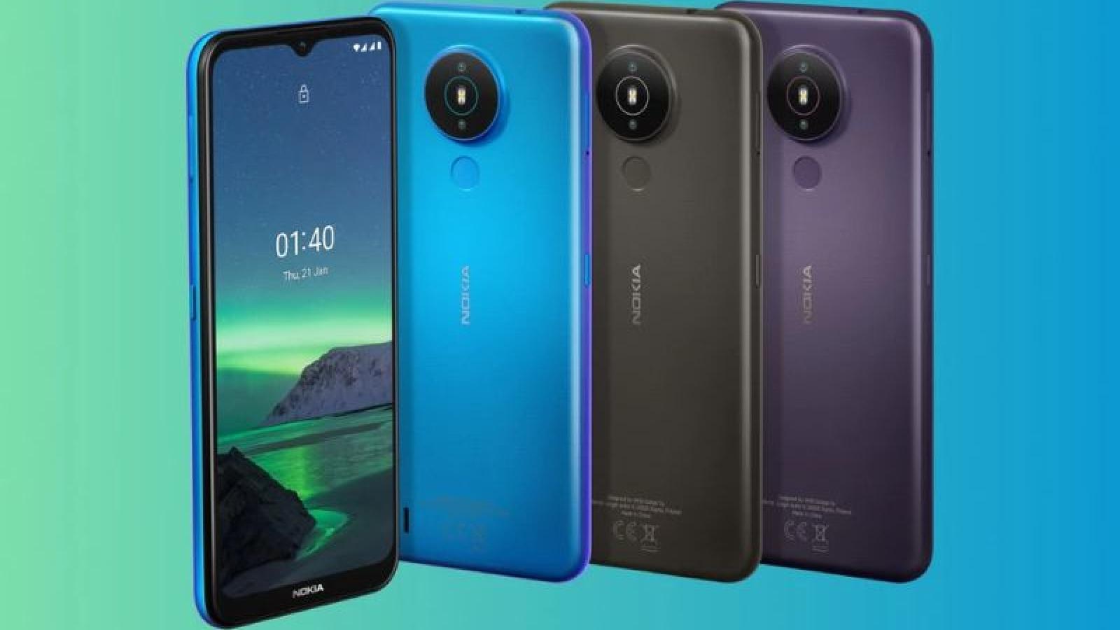 """Nokia 1.4 ra mắt với màn hình 6,51 inch, pin """"trâu"""", giá chỉ 2,74 triệu đồng"""