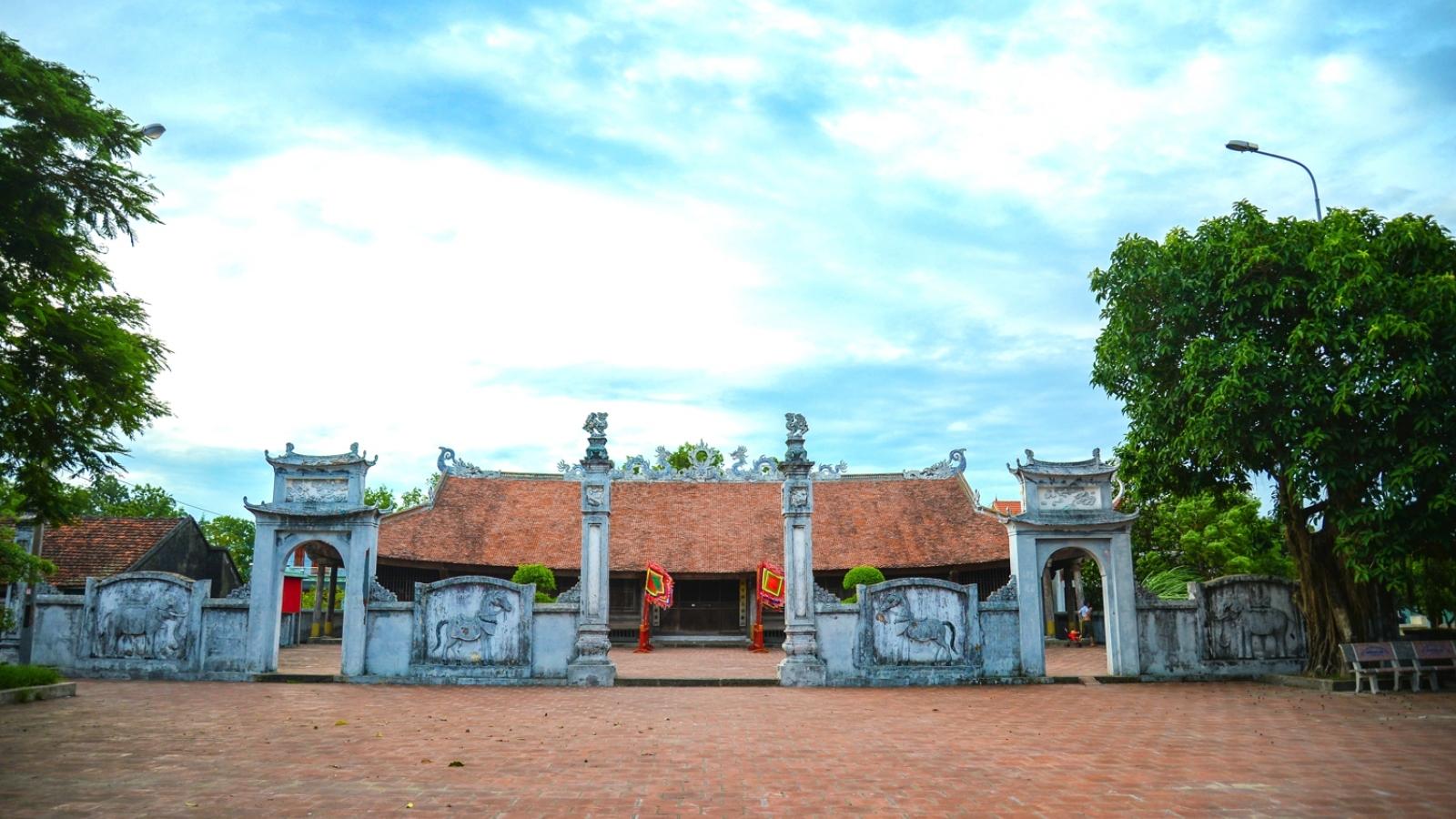 Đình Trà Cổ - mái đình làng biển nơi địa đầu Tổ quốc