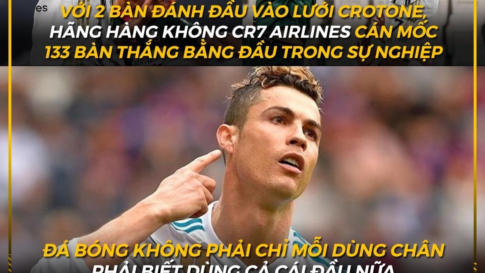 """Biếm họa 24h: Ronaldo khiến tất cả """"ngả mũ"""""""