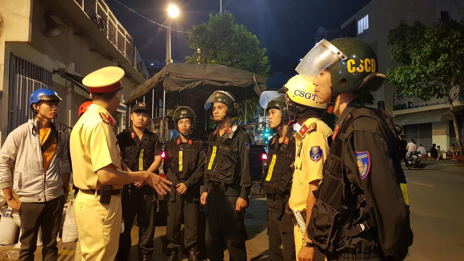 Công an TPHCM tập trung trấn áp tội phạm đường phố dịp Tết Nguyên đán