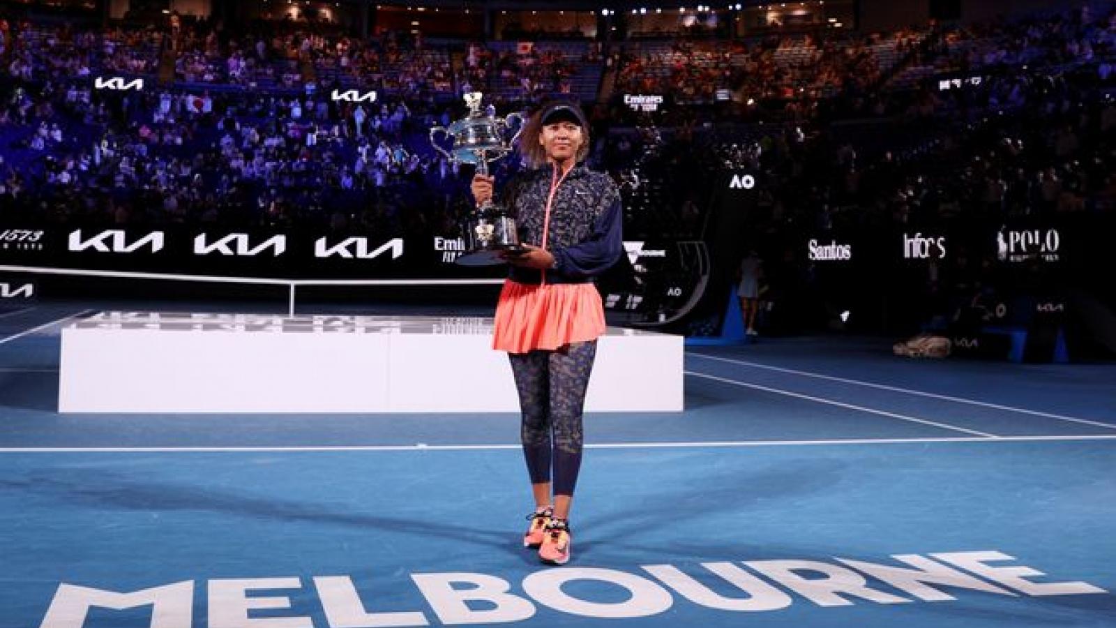 Tay vợt nữ Nhật Bản lần thứ 2 vô địch Australian Open