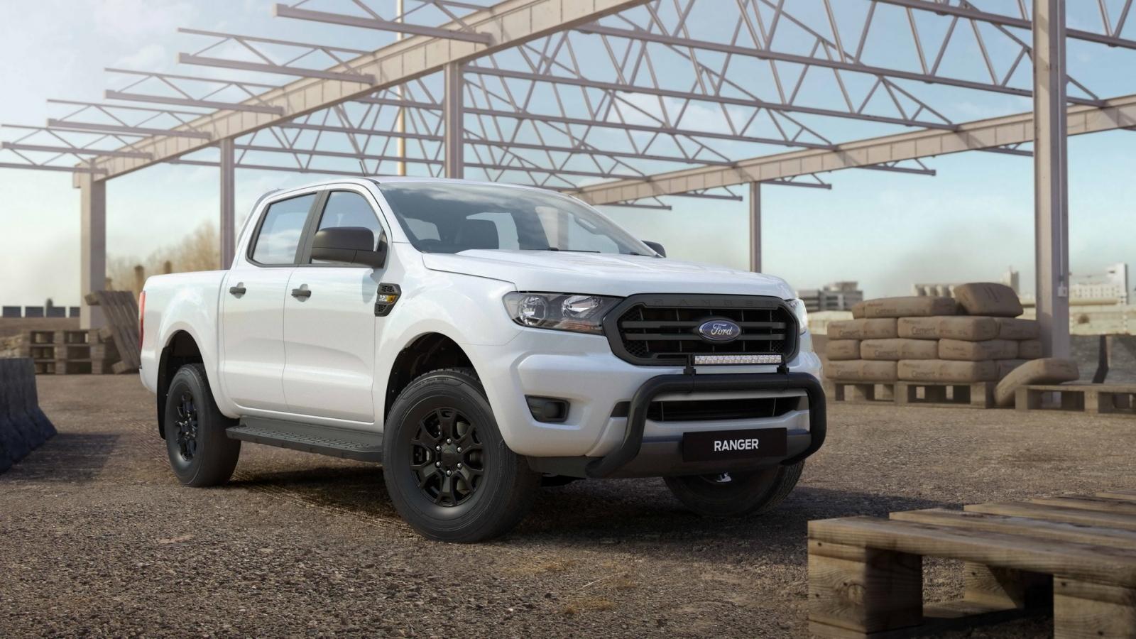 Ford Ranger Tradie 2021 ra mắt tại Autralia