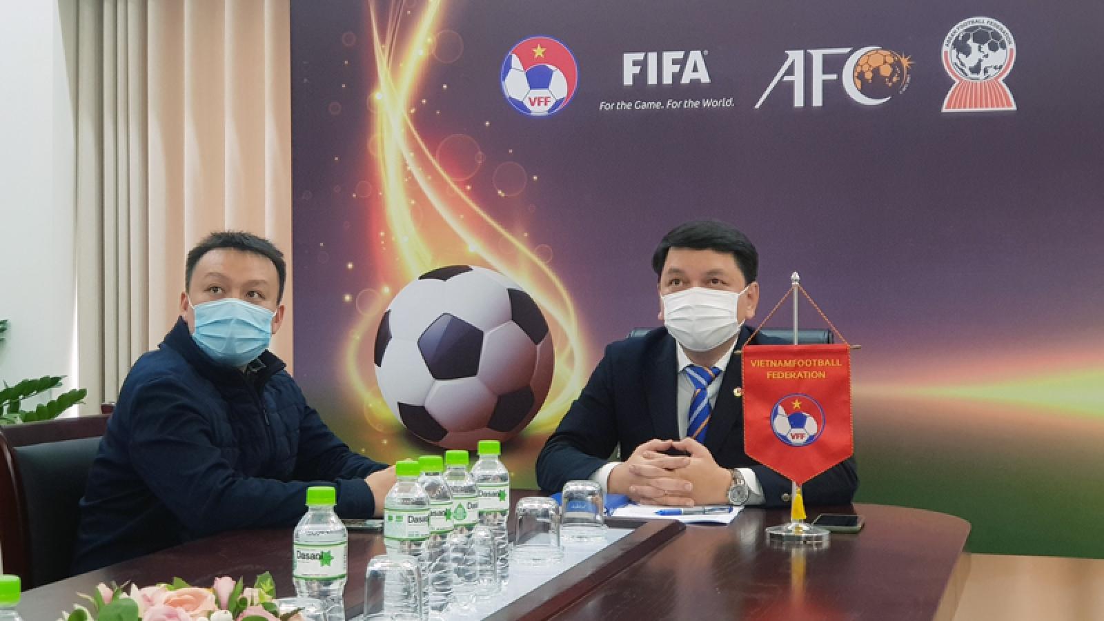 ĐT Việt Nam đá các trận tiếp theo ở vòng loại World Cup 2022 theo hình thức tập trung