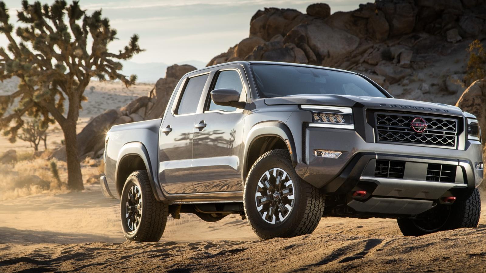 Nissan ra mắt Frontier 2022 tại thị trường Bắc Mỹ