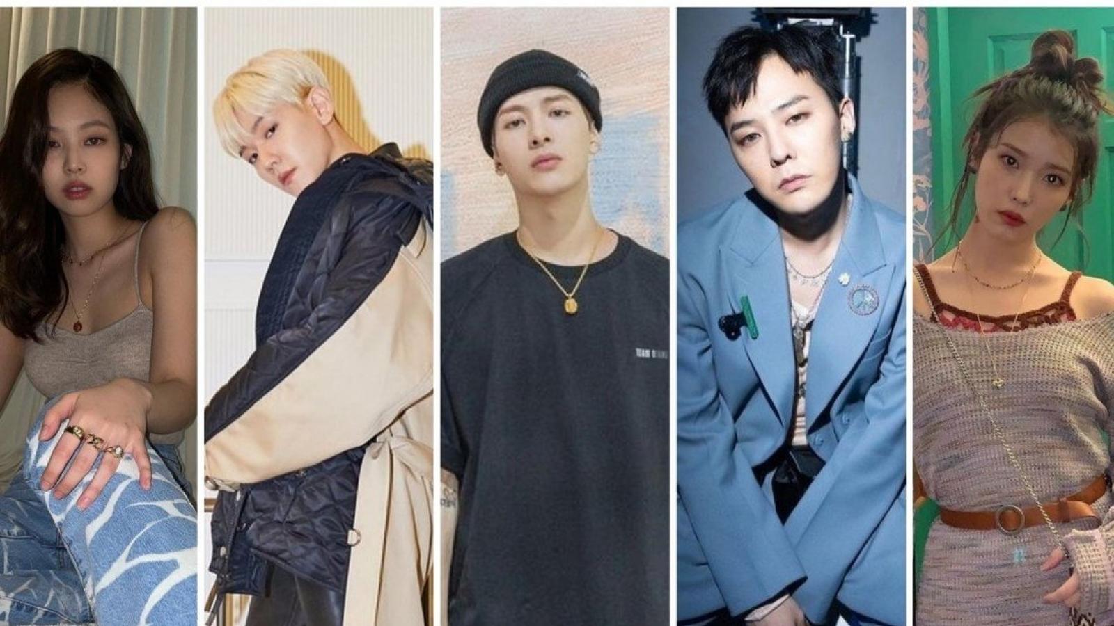 Sao Hàn nào đông fan nhất trên Instagram?