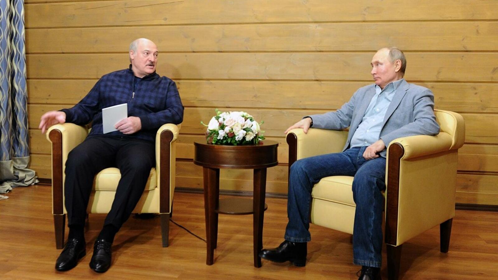 Hai nhà lãnh đạo Nga-Belarus hội đàm về tăng cường hợp tác giữa hai nước