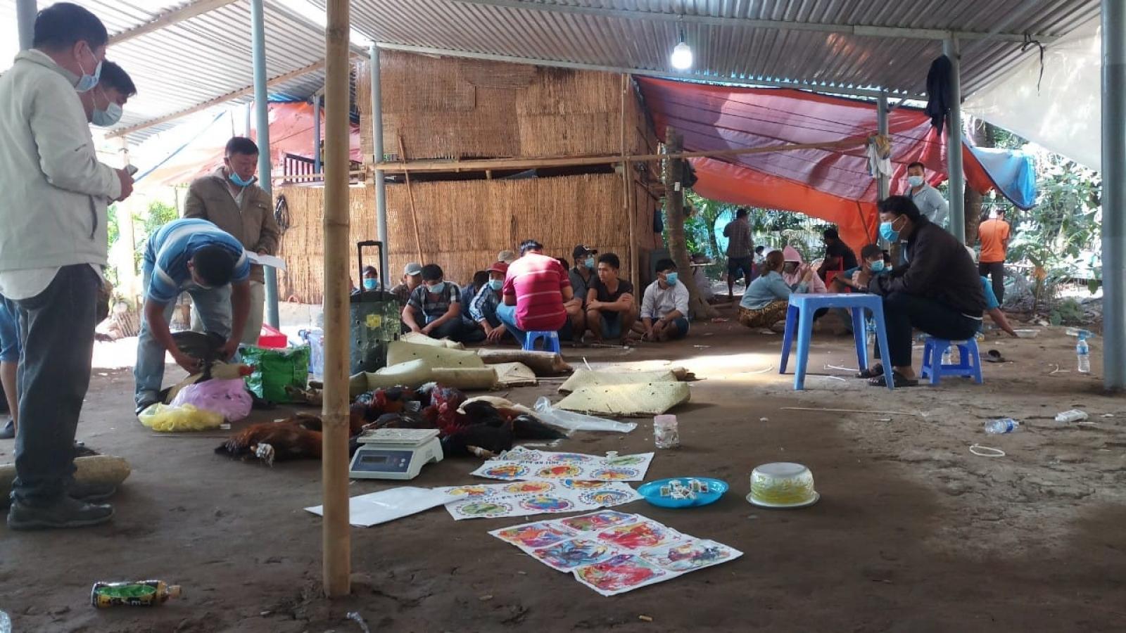 Tiền Giang: Cận Tết bắt giữ nhiềuđối tượng đánh bạc