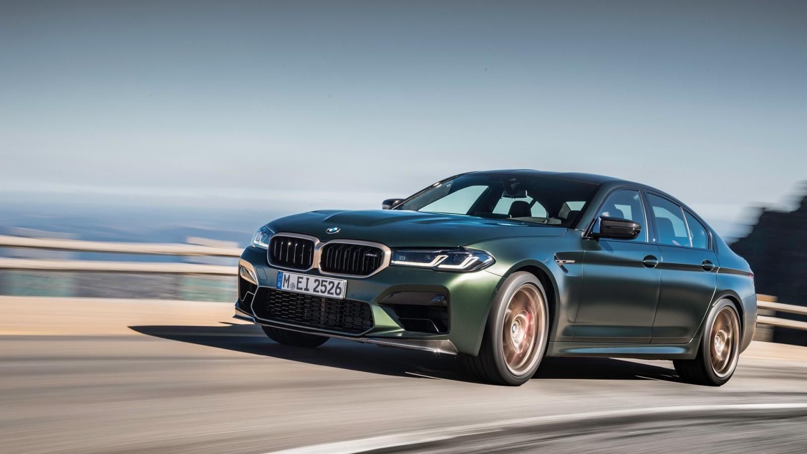 Khám phá BMW M5 CS 2022 công suất 627 mã lực