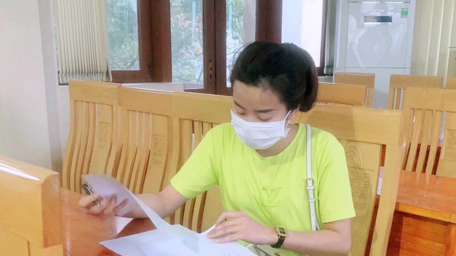 Xử phạt, buộc cách ly y tế nữ công nhân vượt sông từ Hải Dương sang thị xãĐông Triều