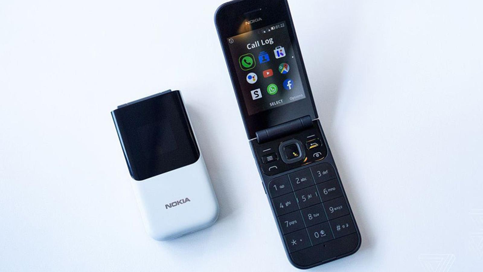 Lộ diện điện thoại nắp gập chạy KaiOS mới của Nokia