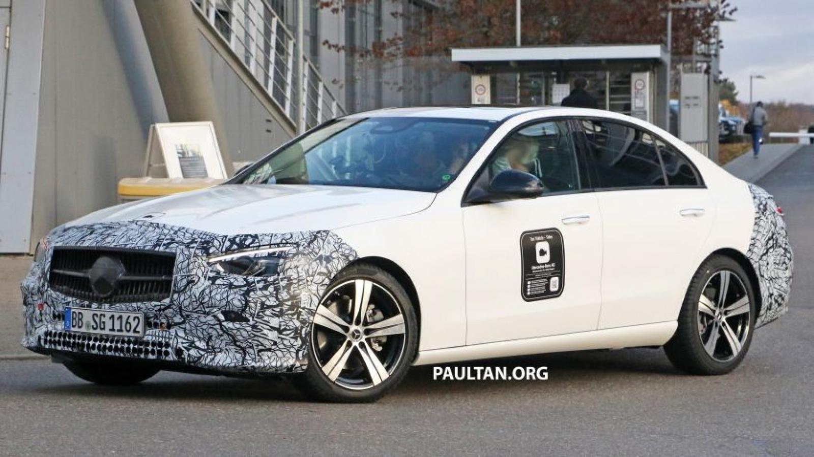 Mercedes-Benz C-Class mới sắp được ra mắt công chúng?