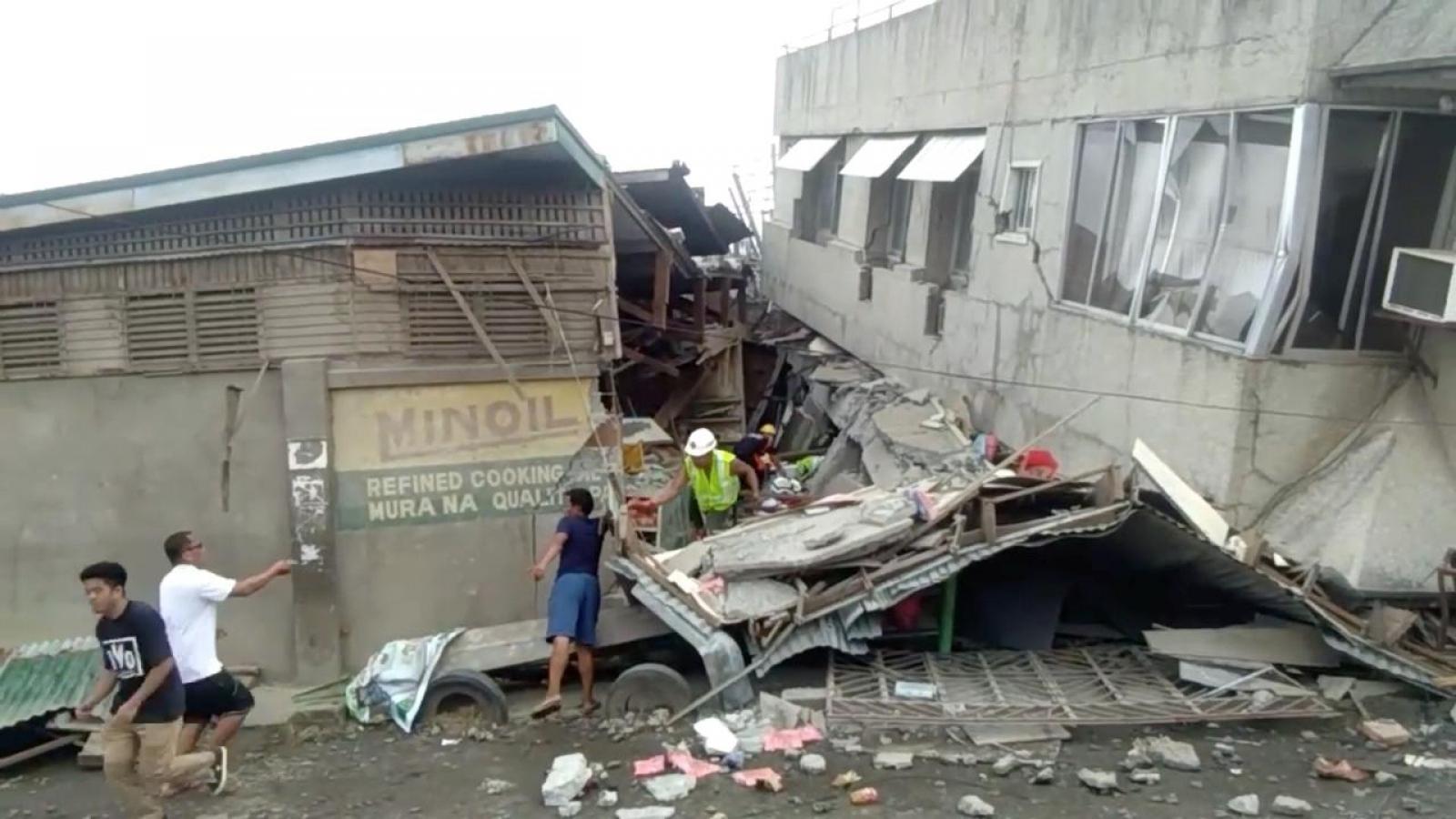 Động đất mạnh 6,3 độ tại Philippines, cảnh báo dư chấn và thiệt hại