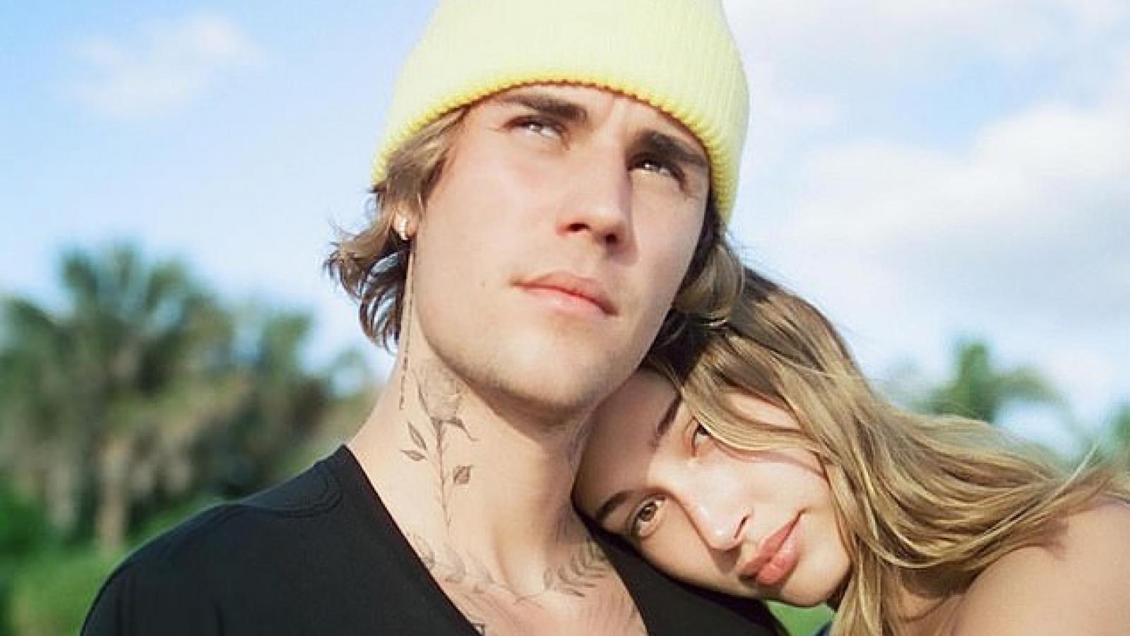 Hailey Baldwin khoe ảnh ngọt ngào bên ông xã Justin Bieber hậu Valentine