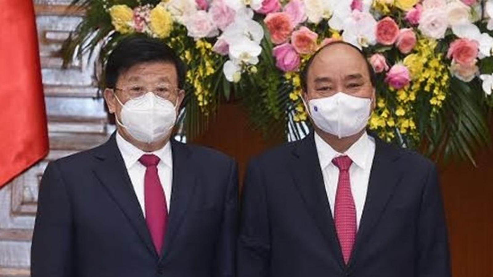 Thủ tướng Nguyễn Xuân Phúc tiếp Bộ trưởng Công an Trung Quốc Triệu Khắc Chí