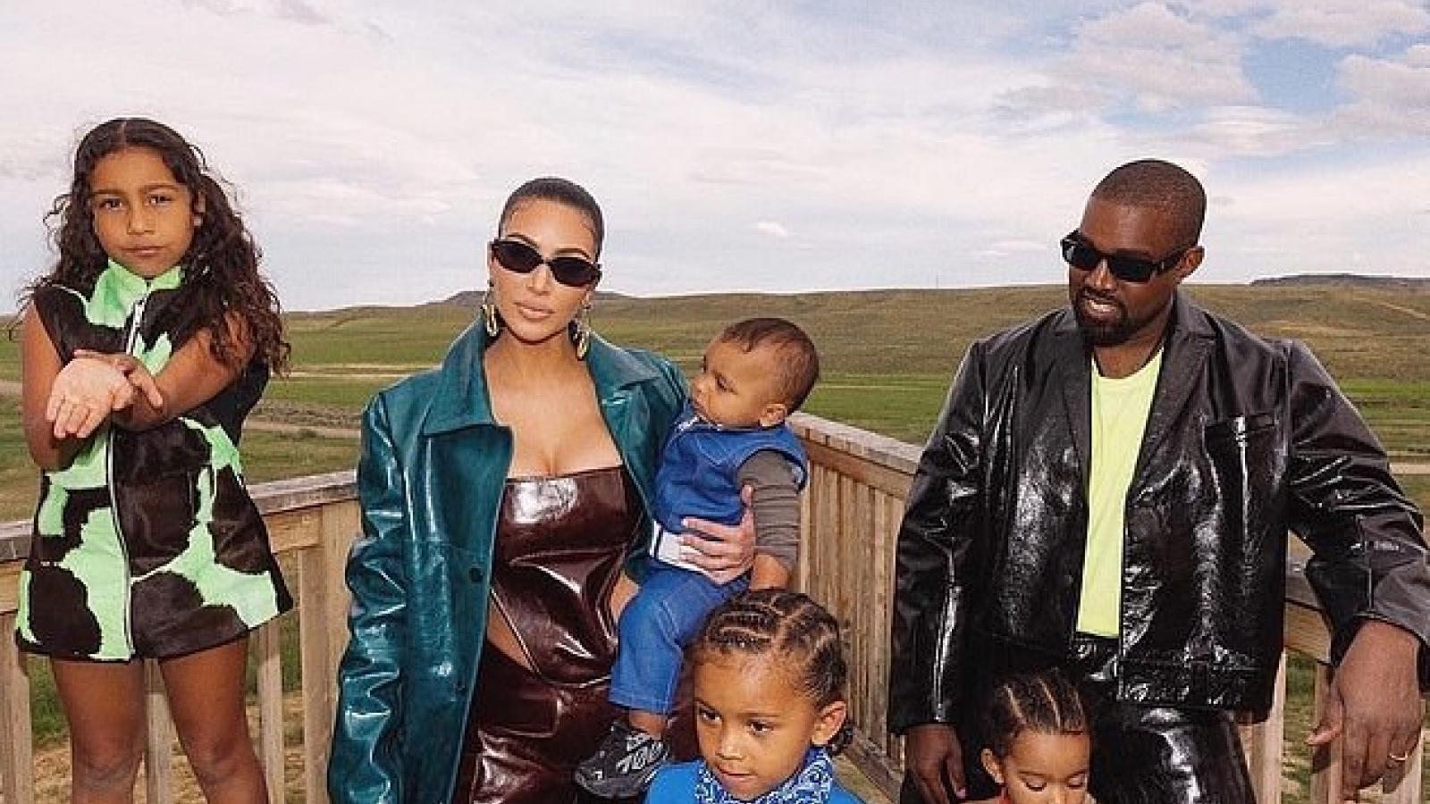 Khối tài sản khổng lồ của vợ chồng Kim Kardashian và Kanye West