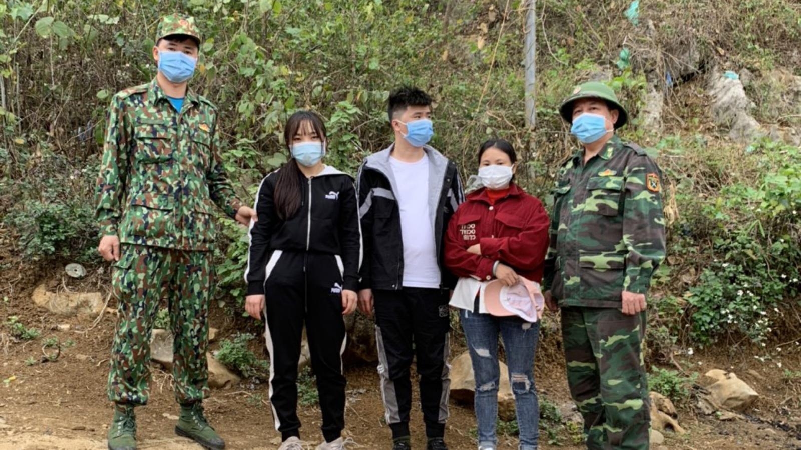 Bắt giữ 3 người Trung Quốc vượt biên vào Việt Nam