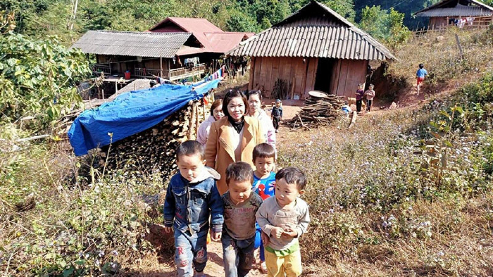 Học sinh tỉnh Điện Biên đi học trở lại từ ngày 22/2