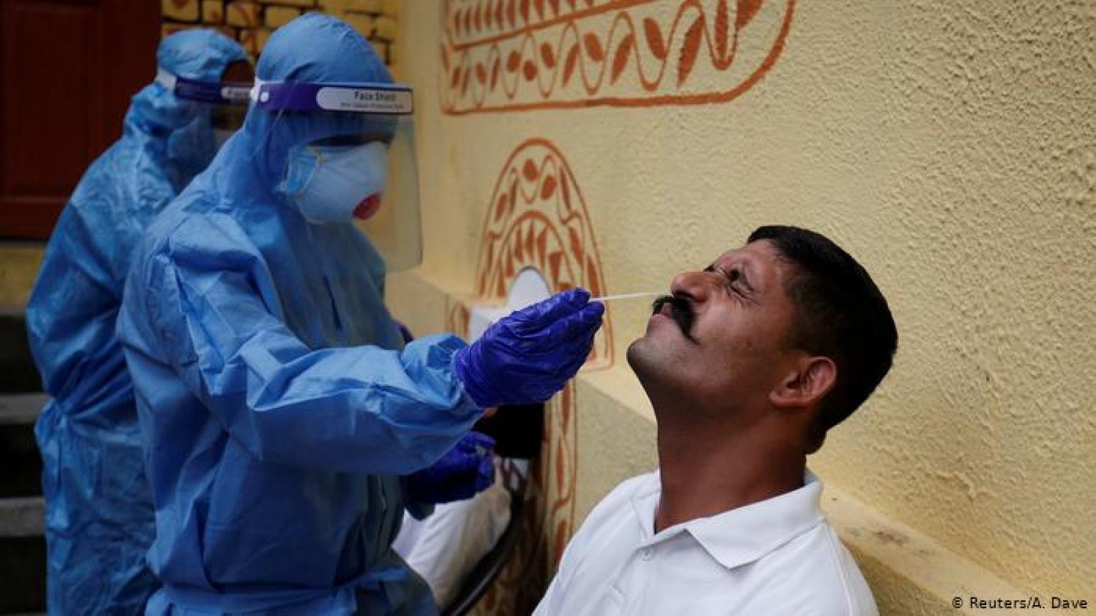 Số ca COVID-19 tăng vọt tại 6 bang, Ấn Độ mở rộng xét nghiệm